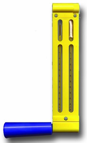 General Tools TSP200RC Red Spirit Filled Sling Psychrometer