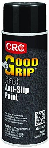 - CRC 18026 Gritty Good Grip Anti-Slip Paint, 12 WT oz, 16 fl. oz. Aerosol, Black