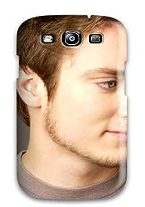 Durable Defender Case For Galaxy S3 Tpu Cover(men Male Celebrity Elijah Wood0879 )