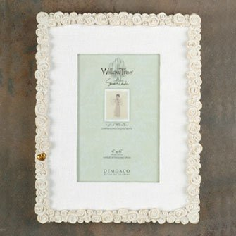 Willow Tree Roses Photo Frame - 26401 - Wedding Favor by Willow Tree