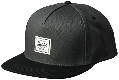 Herschel Supply Co. Men's Dean Cap, Dark Shadow/Black, One Size ()