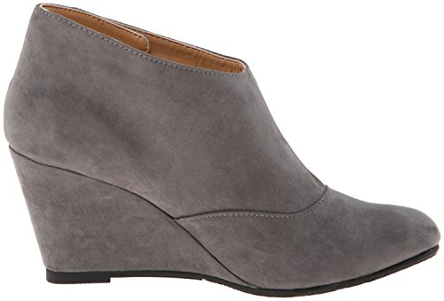 Cl Par Chinese Laundry Femme Valerie Wedge Bottine Charcoal Super Suede