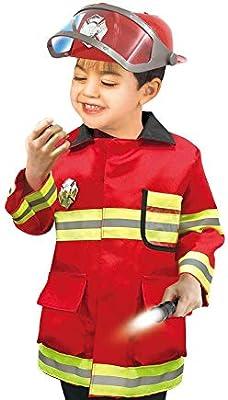 Disfraz de Bombero para niños Juego de Roles Kid Pretend Fireman ...