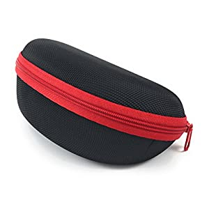 Sunglass Cases for Sports Size Sunglasses and Safety Glasses that are Affordable. Soft Protective Interior Protects from Scratches, Scrapes. Great Cases for Men & Women on the Go