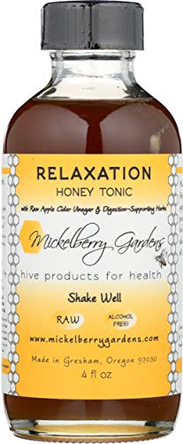 Mickelberry Gardens, Tonic Relaxation Honey, 4 Ounce