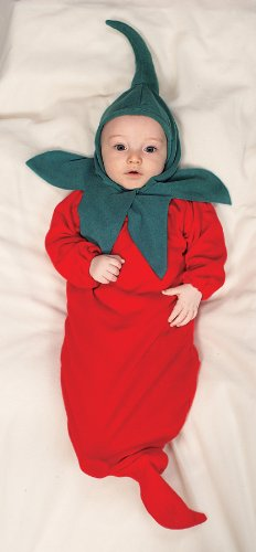 Baby Chili Pepper Costume (Chili Pepper Bunting Costume -)