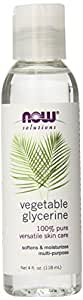 NOW  Vegetable Glycerine, 4 Ounce