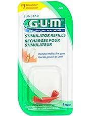 Gum Stimulator Refills, 3 each (Pack of 2)
