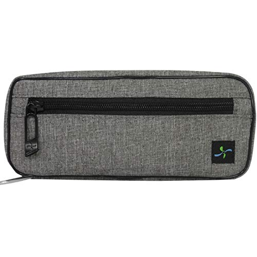 Sugar Medical Carry- All Diabetes Supply Case - Fits Glucagon, Insulin Pen, Glucose Meter and Diabetes Supplies (Greyton) (Diabetes Test Kit Case)