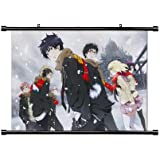 Blue Exorcist Anime Fabric Wall Scroll Poster (32 x 23) Inches. [WP]BlueExorcist-41 (L)