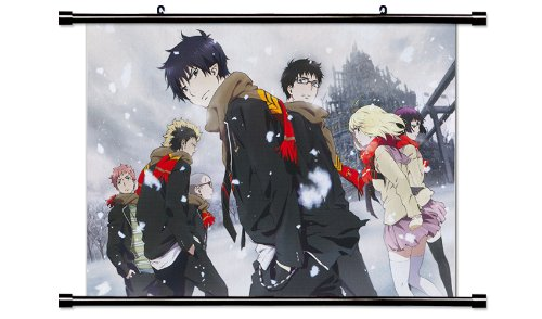 (Blue Exorcist Anime Fabric Wall Scroll Poster (32 x 23) Inches. [WP]BlueExorcist-41)