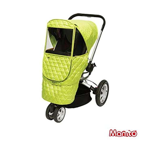 Manito Wind Weather Shield for outdoor strolling Rain Cover Eye Protective Wide Windows Green Castle Beta Cover // Cover for Baby Stroller and Pushchair
