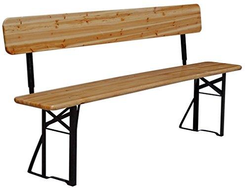 biergarnitur festzeltgarnitur biertisch bierbank bierzeltgarnitur 180 x 76 x 70 cm grill. Black Bedroom Furniture Sets. Home Design Ideas
