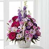 Pastel Peace Basket - Fresh Flowers Hand Delivered in Albuquerque Area