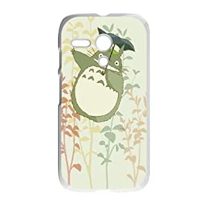 Motorola G Cell Phone Case White Cute My Neighbor Totoro SP4184315