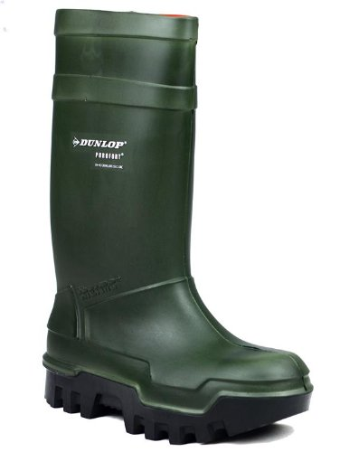 Thermo Full para Dunlop neopreno zapatos de mujer zapatero para mujer Purofort C662933 seguridad traje de Plus de Brq8zB