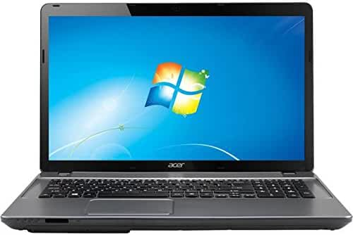 2017 Acer Business Class Laptop Aspire E1 (Intel Core i3 3110M, 6 GB DDR3 SDRAM Memory, 500 GB HDD, Intel HD Graphics 4000, 17.3 inch Screen, Windows 7 Home Premium) (Refurbished)