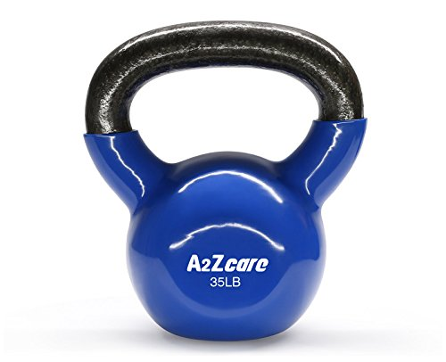 A2ZCare-Vinyl-Coated-Kettlebell-For-Cross-Training-Swings-Body-Workout-And-Muscle-Exercise