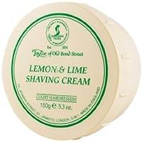 Lemon Lime Shaving Cream Bowl 150g shave cream by Taylor of Old Bond Street by Taylor of Old Bond Street