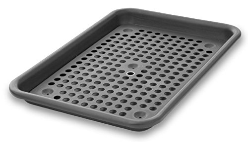 LloydPans Kitchenware 9 Inch by 13 Inch Quarter Sheet Pan Oven Roaster