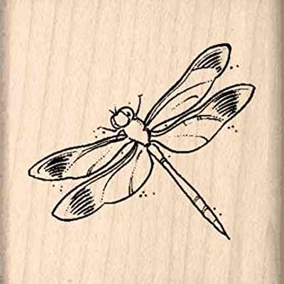 Stamps by Impression ST 0624a Dragonfly Rubber Stamp: Arts, Crafts & Sewing
