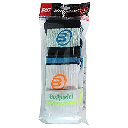Pack Calcetines BullPadel 2018 (L): Amazon.es: Deportes y ...