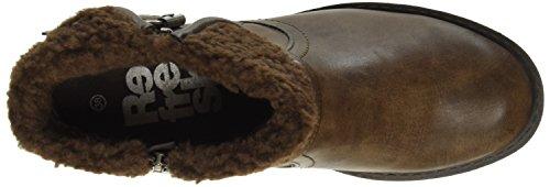 Refresh 62131, Zapatillas de Estar por Casa para Mujer Marron