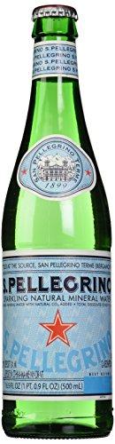 San Pellegrino Mineral Water (S.Pellegrino Sparkling Natural Mineral Water, 17 fl oz.)