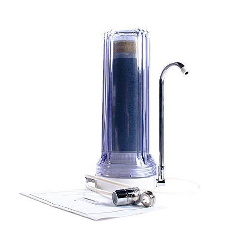 Anchor AF-3300-C 3 Stage Countertop Water Filter, - Micro Filter Clear De