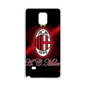 AC Milan Samsung Galaxy Note 4 Cell Phone Case White Fantistics gift SJV_921111