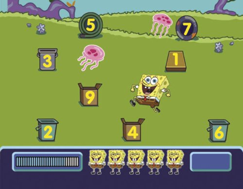 Fisher-Price Smart Cycle [Old Version] SpongeBob Ocean Adventure Software Cartridge by Fisher-Price (Image #1)