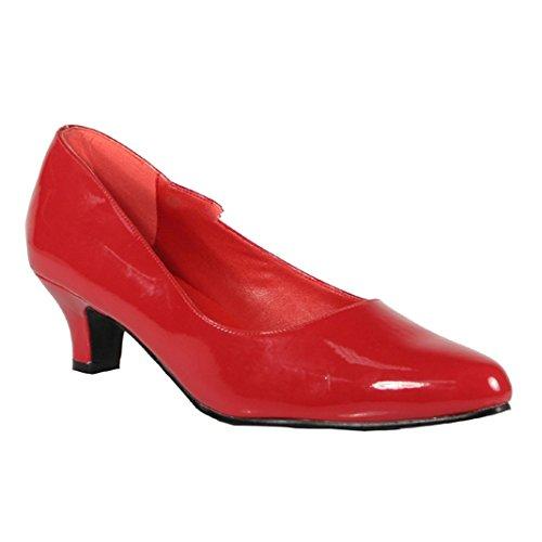 Pleaser - Zapatos de vestir para mujer Rot