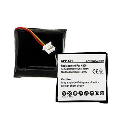 Logitech H800 Cordless Phone Battery (LI-POL 3.7V 320mAh) - Replacement For Logitech 533-000067 Cordless Phone Battery