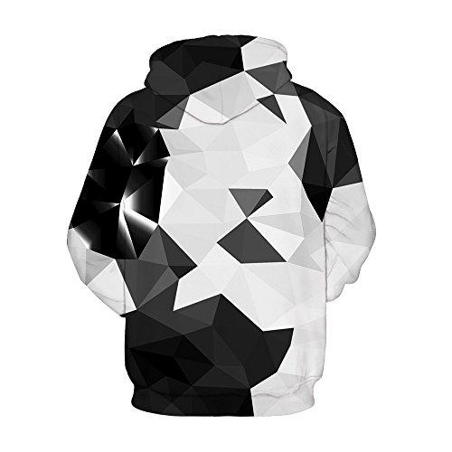 Sudadera Triangle White Mujer Black Para Amoma d7qYHxzz