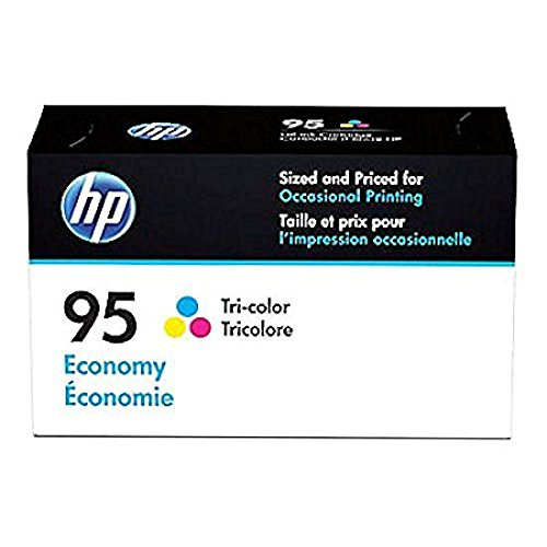HP 95 Ink Cartridge Tri-color Economy (B3B23AN) for HP Deskjet 460 2575 C4150 C4180 6830 6840 9800 HP Officejet 100 150 6940 6988 H470 7210 7310 7410 - 7210 In Hp All Toner One