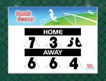 Marcatore Tennis, compatto, lato singolo Tennis Scoreboard