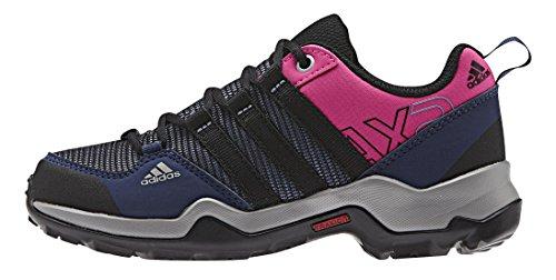 adidas Ax2 Cp K, Zapatillas de Deporte Unisex Infantil Morado / Negro / Rosa (Mornat / Negbas / Eqtros)