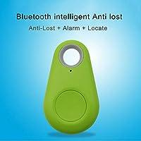 Lanlan Smart Mini Impermeable Bluetooth Rastreador de GPS para Mascotas Perro Gato Llaves Billetera Bolsa niños
