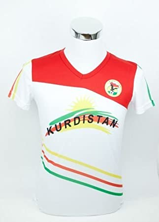 sports shoes buy good good service Kurdistan Fußball Trikot (L): Amazon.de: Sport & Freizeit