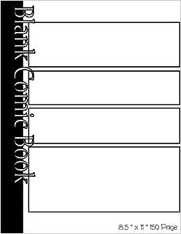 blank comic book panels