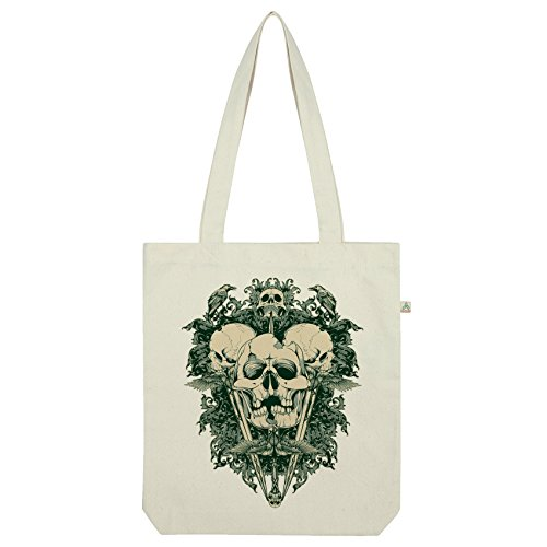 White Gothic Tattoo Twisted Twisted Envy Bag Tote Envy Skull 7Htq8BBw
