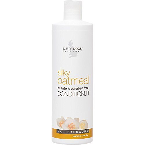 Isle of Dogs Silky Oatmeal Conditioner, 16 Fluid Ounce (Gallon Conditioner Dog Coat)