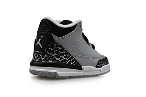 Nike Herren–Jordan 10A–Stealth weiß schwarz