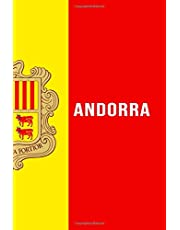 Andorra: Andorra Gift Lined Notebook / Journal / Diary Gift, 110 Blank Pages, 6x9 inches, Matte Finish Cover