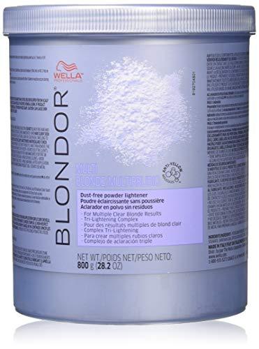 Wella Blondor Multi Blonde Powder Lightener By Wella for Women - 28.2 Ounce Lightener, 28.2 Ounce ()