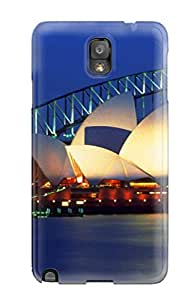 Albert R. McDonough's Shop 5853559K64426569 Hot Fashion Design Case Cover For Galaxy Note 3 Protective Case (sydney Opera House, Australia)