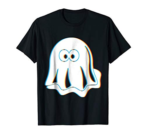 Psychedelic Ghost T-Shirt | Trippy Halloween Costume