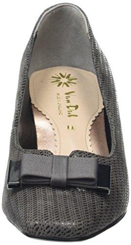 mujer de DalKett Gris Zapatos Tacón Van IwOx7nq06I