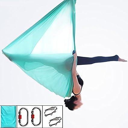 Amazon.com : Aerial Yoga Swing - 5.5 Yards Super Antigravity ...