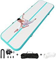 Happybuy 10ft 13ft 16ft 20ft 23ft 26ft 30ft Air Track 8 inches Airtrack 4 inches Inflatable Air Track Tumbling